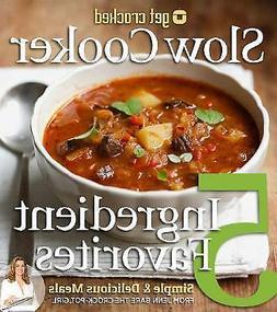Crock Pot Slow Cooker Recipe Cookbook Cook Book 5 Ingredient