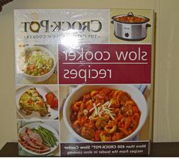 Crock Pot Slow Cooker Recipes Book Over 450 Recipes Brand Ne