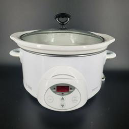 Rival Crock Pot Smart Pot SCRC500 5 Quart Smart Pot Slow Coo