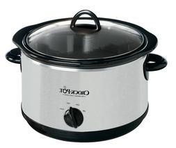 Crock-Pot The Original Slow Cooker, 5-Quart, Stainless Steel