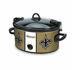 Crockpot SCCPNFL600-NO Crock-Pot New Orleans Saints Cook & C