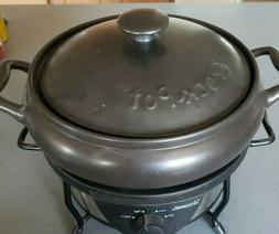 Crockpot Versaware Rival Slow Cooker SC7500 5 Qt Stoneware R