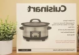 Cuisinart 6.5qt Programmable Slow Cooker/Crock Pot - Stainle