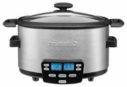 Cuisinart - Cook Central 4-Quart Multicooker - Stainless Ste