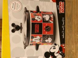 Disney DCM-200CN Mickey Mouse Slow Cooker 2-Quart Red/Black
