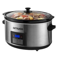Gourmia DCP-860 SlowSmart 8.5 quart Digital Slow Cooker with