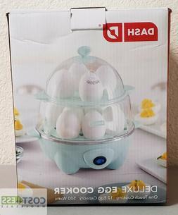Dash DEC012AQ Deluxe Rapid Egg Cooker: Electric, 12 Capacity