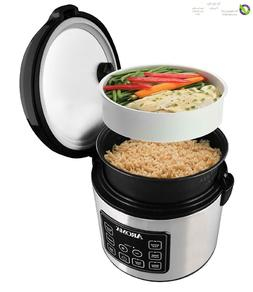 Digital 20 Cup Rice Cooker Steam Flash Slow Cook Programmabl