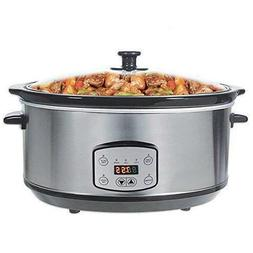 Haolide Digital 5-Quart Oval Shape Stainless Steel Programma
