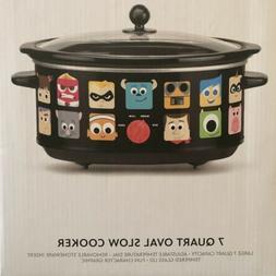 Disney Pixar 7 Qt Crock Pot Slow Cooker NIB