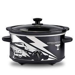 Disney Pixar Cars DPC-40 Slow Cooker, 4 quart, Black