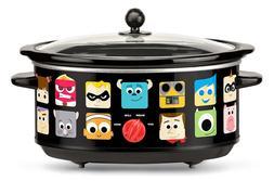 Disney DPX-7 Disney Pixar Black 7 Quart Slow Cooker