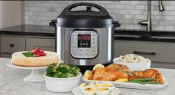 Instant Pot DUO 6qt 7-in-1 Pressure Cooker Multi-Use w/14 Pr