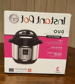 Instant Pot Duo Mini 7 in 1 Electric Pressure Cooker, Slow,