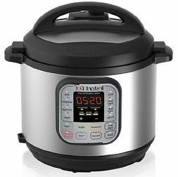 DUO60 6 Qt 7-in-1 Multi-Use Programmable Pressure Cooker, Sl