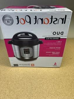 Instant Pot Duo60 6 QT 7-in-1 Multi-use Programmable Pressur