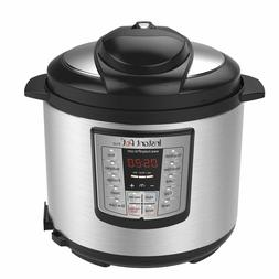 Instant Pot LUX60V3 V3 6 Qt 6-in-1 Multi-Use  ProgrammablePr