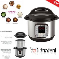 Instant Pot DUO80 8 Qt Pressure Cooker Rice, Steamer,Sauté,