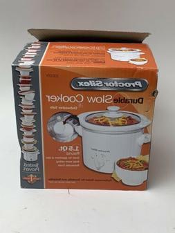 durable 1 5 quart slow cooker crockpot