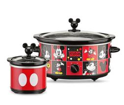 Mickey Mouse Cookers Durable 5 Quart Oval Slow Cooker 20 Oun