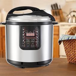 Multipot 9-IN-1 12QT ML160A-H Electric Pressure Cooker, KUPP