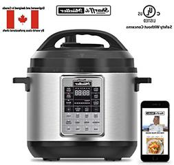 Electric Pressure Cooker 6 Quart Stainless Steel 12 in 1 Pro