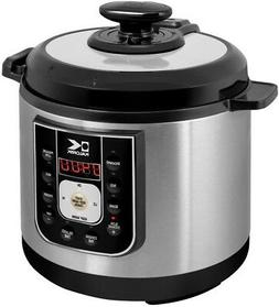 Electric Pressure Cooker Slow Cook Keep Warm Non-Stick Stain