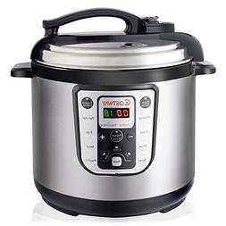 Costway 8 Quart 7-in-1 Multi- Use Programmable Pressure Cook