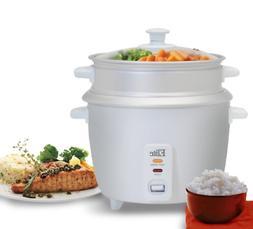Electric Slow Cooker Keep Warm 1.5Qt Capacity Adjustable Tem