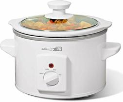 Electric Slow Cooker Small Crock Pot Mini Cooking Manual Gla