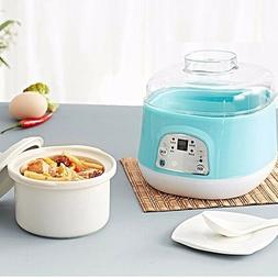 Electric Slow Cookers Mini Pots Porridge Cooking Soup Stewin
