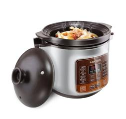 Tianji Electric Stew Pot Slow Cooker With Ceramic Inner Pot