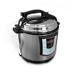 NutriChef 97095252M Digital Electronic Pressure Cooker + Slo
