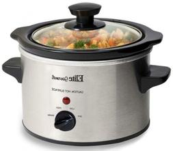 Elite Gourmet MST-250XS Electric Slow Cooker, 1.5Qt Capacity