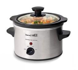 Elite Gourmet MST-250XS Electric Slow Cooker, Adjustable Tem