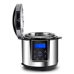 ELON Elite Modern Multi-Cooker 6 Qt 11-in-1 Programmable Pre
