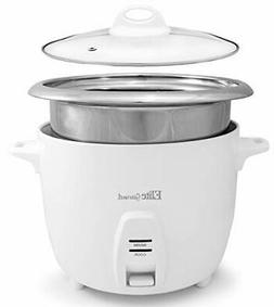 Elite Gourmet ERC-2020 Electric Rice Cooker with Stainless S