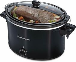 Extra-Large Slow Cooker 10 Quart Capacity Clip Tight Sealed