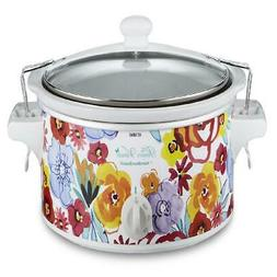 Flea Market Floral 6-Quart Portable Slow Cooker, The Pioneer