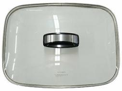 """Presto Glass Cover with Handle For 16"""" Electric Skillets, 85"""