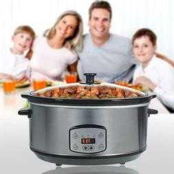 Greatic 4.5L Programmable Professional Pressure Slow Cooker