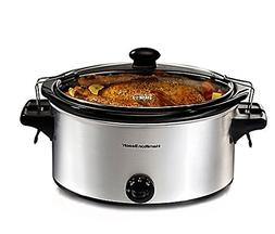 Hamilton Beach 33268 Stay or Go 6-quart Slow Cooker, Perfect