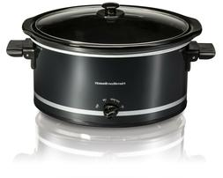 Hamilton Beach 8 Quart Qt Large Slow Cooker Crock Pot Oval M