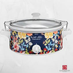 Slow Cooker 6 Quart Crock Pot THE PIONEER WOMAN Floral Desig
