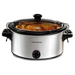 Hamilton Beach Stay or Go 6-Quart Slow Cooker Model 33268