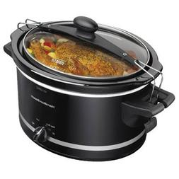 Hamilton Beach Stay or Go 33245 Cooker - 1 gal - Black