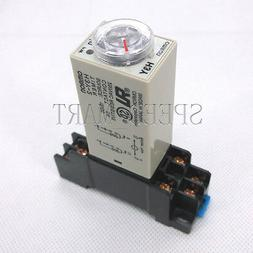 High Quality DC 12V H3Y-2 Time Relay Delay Timer 0-60 Minute