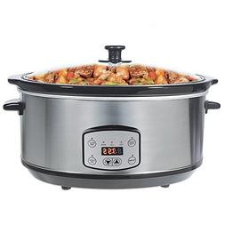 Greatic 4.5L HMAC-48 Programmable Slow Cooker with Digital T
