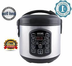 Aroma Housewares Digital Cool-Touch Rice Cooker and Food Ste