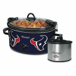 Crock-Pot Houston Texans NFL 6-Quart Cook & Carry Slow Cooke